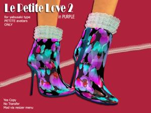 AD boots PURPLE
