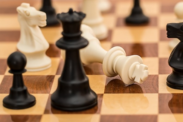 Board Game Chess Conflict Resignation Checkmate