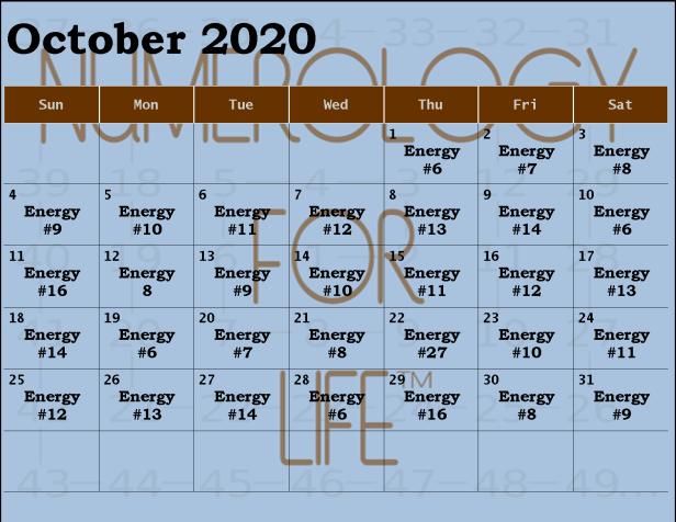 2020 OCT