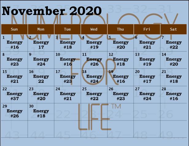 2020 NOV